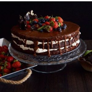 layer cake de chocolate y mascarpone